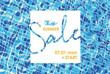 SUMMER SALE開催